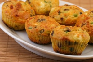 cot-cheese-egg-muffins-on-plate