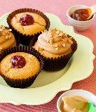 pbj cupcakes